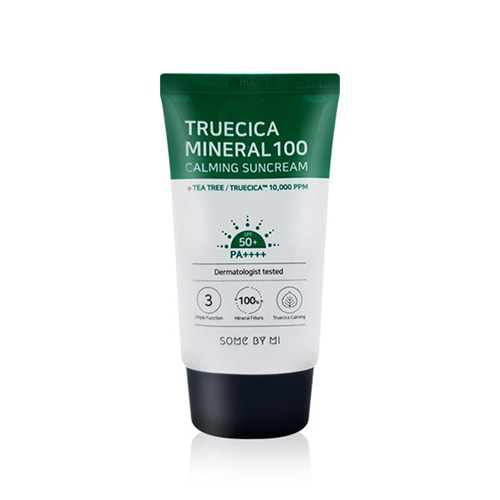 [TIME DEAL] SOME BY MI True Cica Mineral 100 Calming Sun Cream SPF50+ PA++++ 50ml
