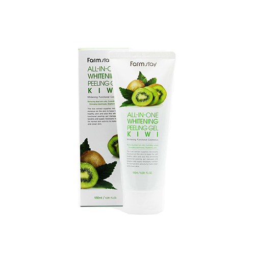 Farmstay All-In-One Whitening Peeling Gel Kiwi 180ml