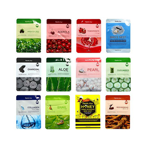 Farmstay Visible Difference Mask Sheet 12ea (each 1 of all types)