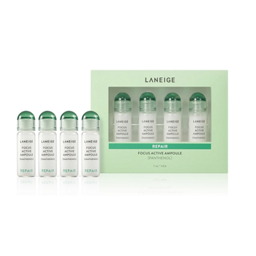 LANEIGE Focus Active Ampoule Panthenol 7ml * 4ea