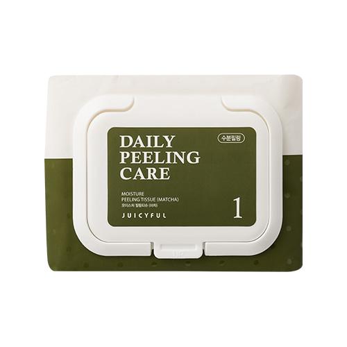 JUICYFUL Daily Moisture Matcha Peeling Tissue 22ea