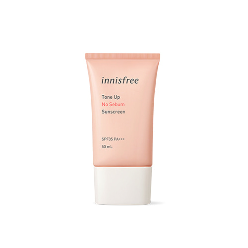 innisfree Tone Up No Sebum Sunscreen SPF35 PA+++ 50ml