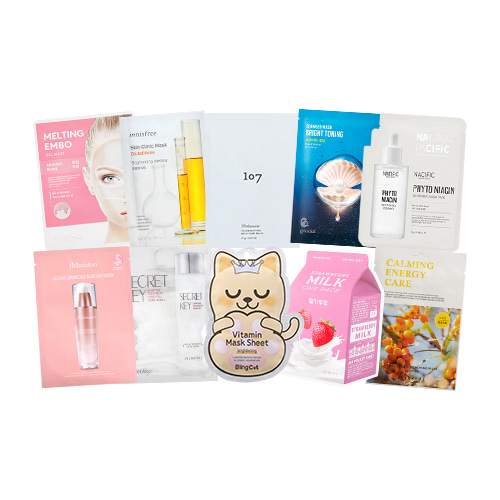Mask Sheet Trial Kit (illuminate)
