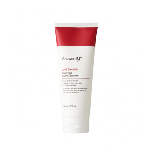 Answer19+ Anti Blemish Clarifying Foam Cleanser 150ml