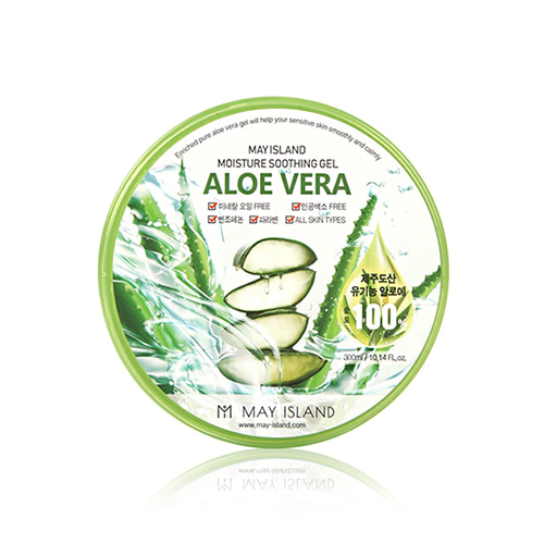 MAY ISLAND Aloe Vera Moisture Soothing Gel 300ml
