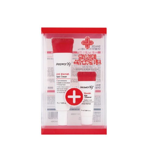 Answer19+ Anti Blemish Spot Cream Special Set