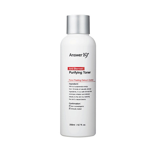 Answer19+ Anti Blemish Purifying Toner 200ml