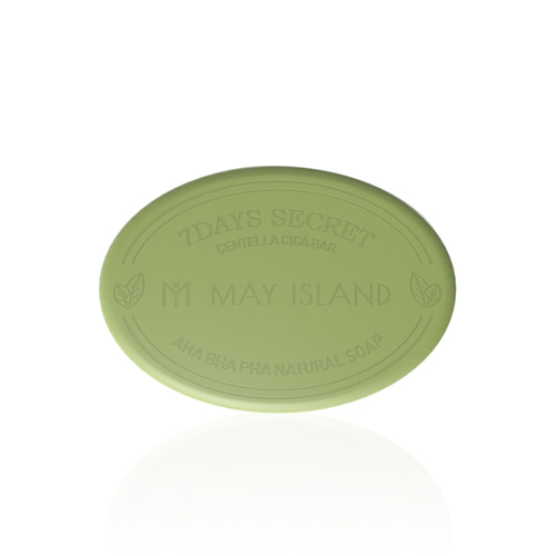 MAY ISLAND 7 Days Secret Centella Cica Pore Cleansing Bar 100g
