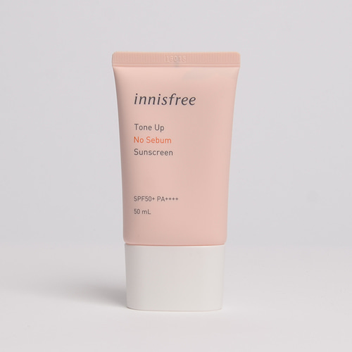 innisfree Tone Up No Sebum Sunscreen SPF50+ PA++++ 50ml