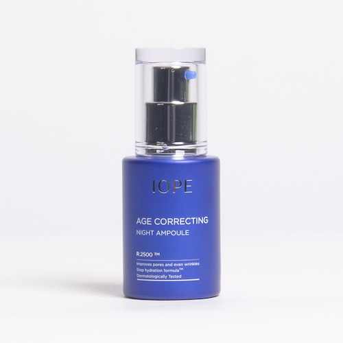 IOPE Age Correcting Night Ampoule 30ml
