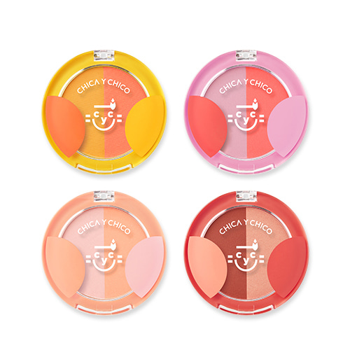 CHICA Y CHICO One Touch Ppyam Ppyam Duo Blusher 5g
