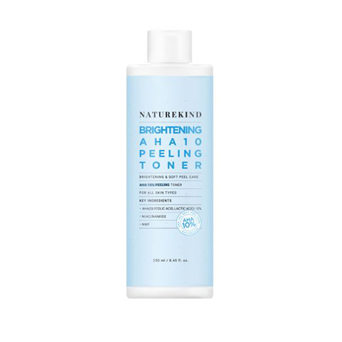 NATUREKIND Brightening AHA 10 Peeling Toner 250ml