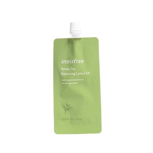 innisfree Green Tea Balancing Lotion EX (7days) 10ml