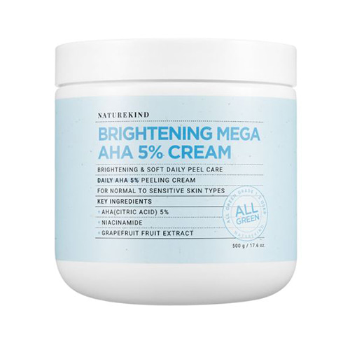 NATUREKIND Brightening Mega AHA 5% Cream 500g