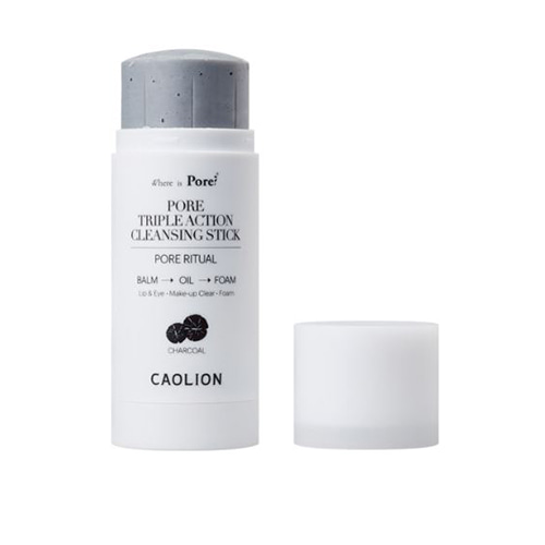 CAOLION Pore Triple Action Cleansing Stick Charcoal 50g