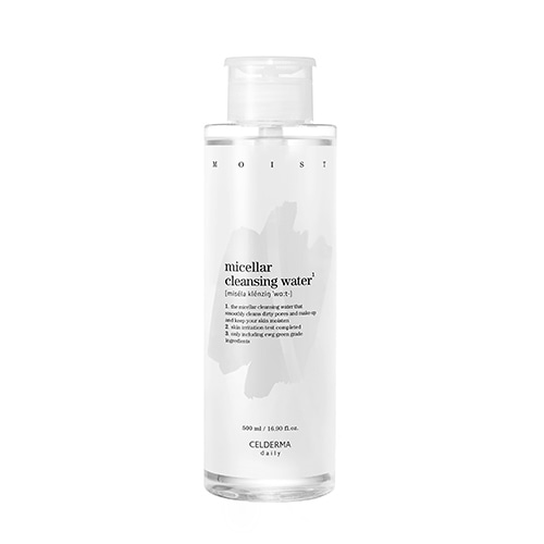 CELDERMA daily Micellar Cleansing Water 500ml