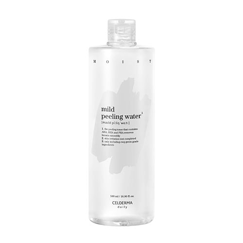 CELDERMA daily Mild Peeling Water 500ml