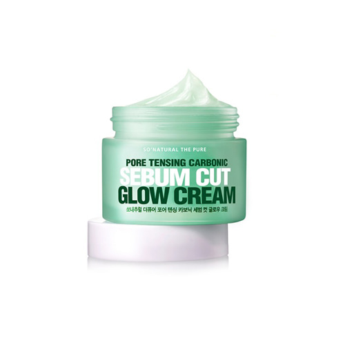 so natural Tensing Carbonic Sebum Cut Glow Cream 50ml