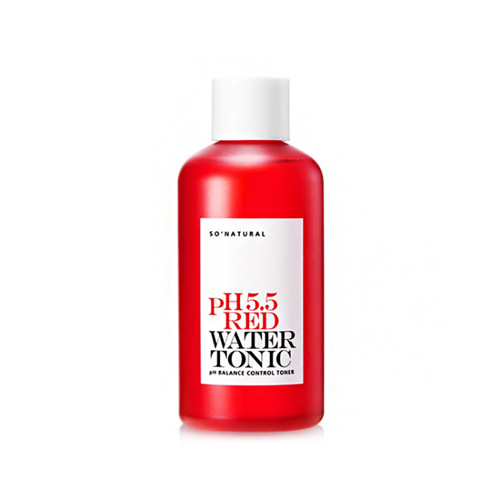 so natural pH 5.5 Red Water Tonic 250ml