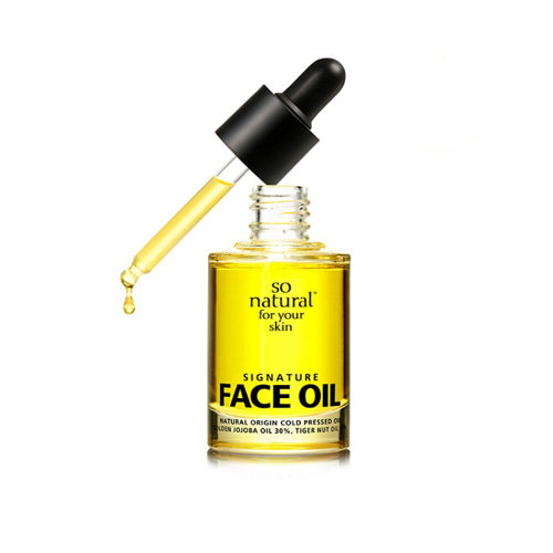 so natural Signature Face Oil 30ml