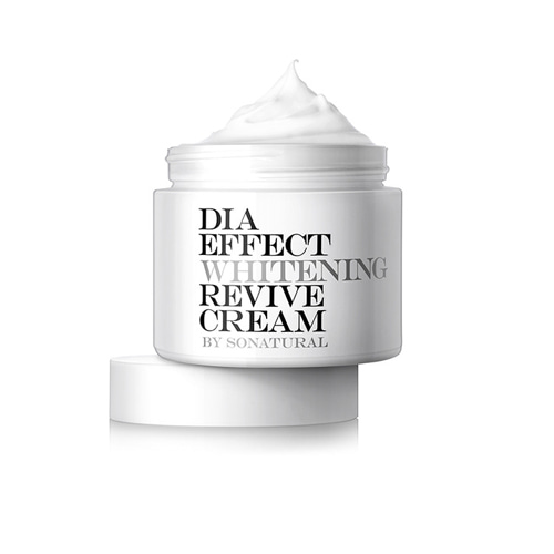 so natural Dia Effect Whitening Revive Cream 70ml