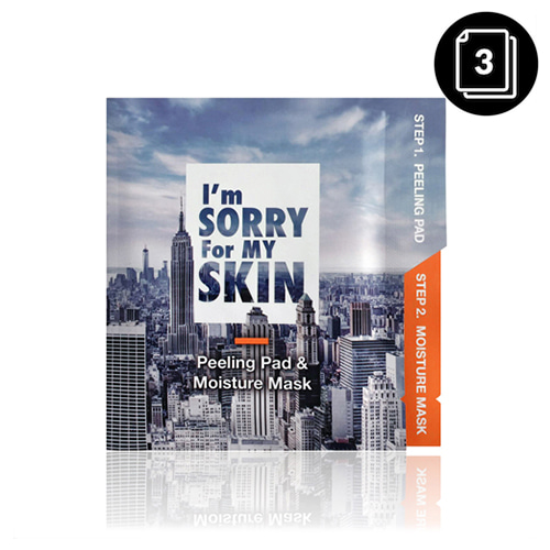 I'm Sorry For My Skin Peeling Pad & Moisture Mask 3ea
