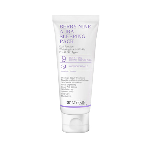 Dr.MYSKIN Berry Nine Aura Sleeping Pack 200ml