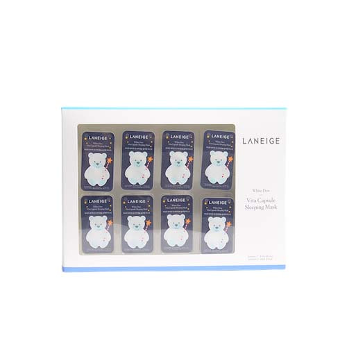 LANEIGE White Dew Vita Capsule Sleeping Mask 8ea