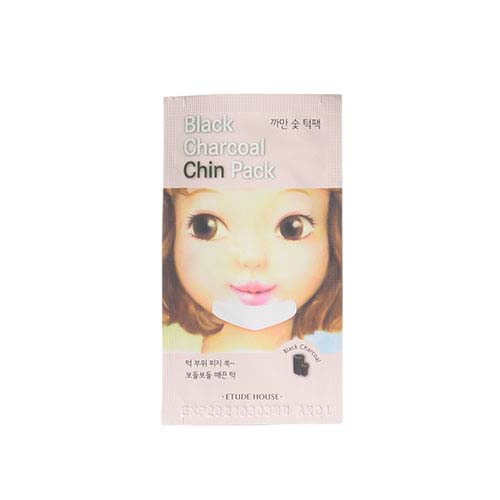 ETUDE HOUSE Black Charcoal Chin Pack 5 sheets