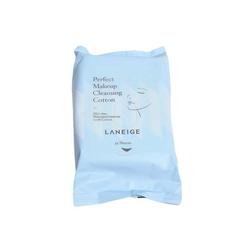 LANEIGE Perfect Makeup Cleansing Cotton 35 EA