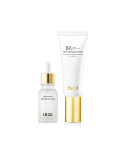 isoi Bulgarian Rose Anti-aging Sun Base SPF23 PA++ 40ml + 15ml