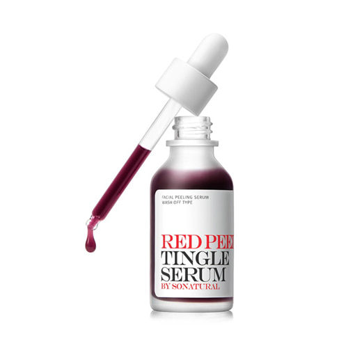 so natural Red Peel Tingle Serum 35ml