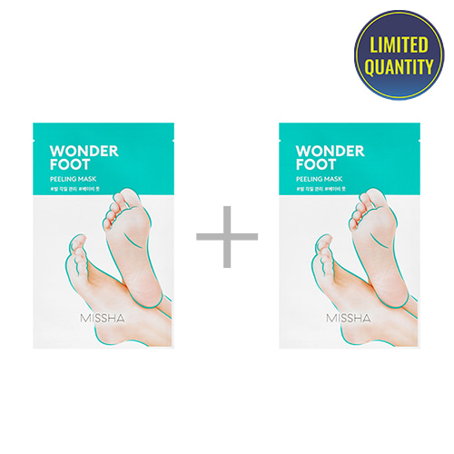 [1+1] MISSHA Wonder Foot Peeling Mask 50ml