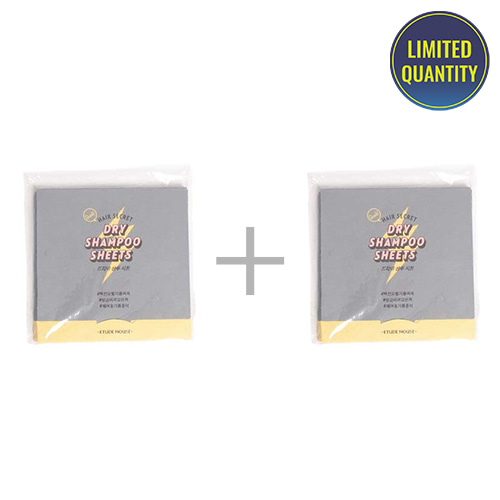 [1+1] ETUDE HOUSE Hair Secret Dry Shampoo Sheet 30sheets