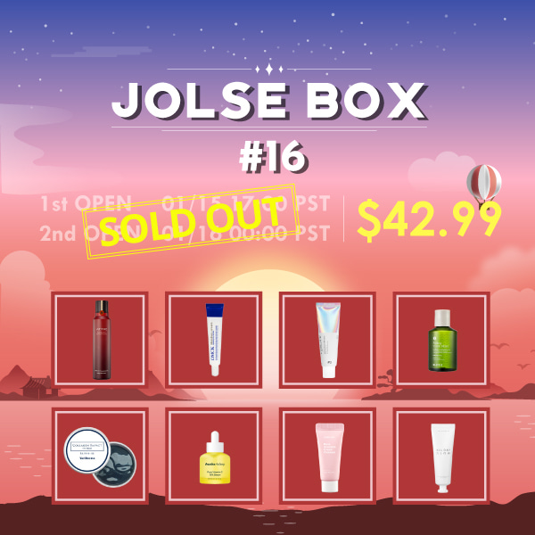 JOLSE BOX #16 SOLD OUT