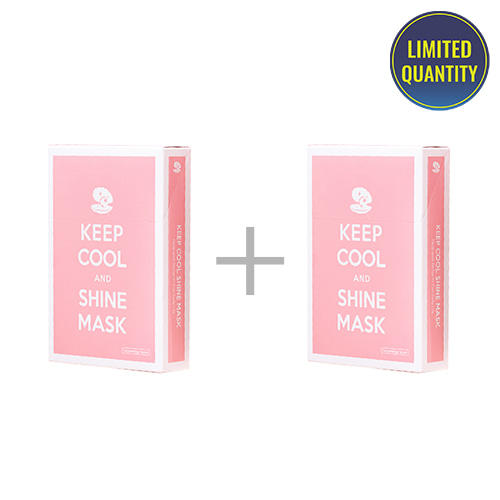 [1+1] KEEP COOL Shine Intensive Brightening Mask 10ea