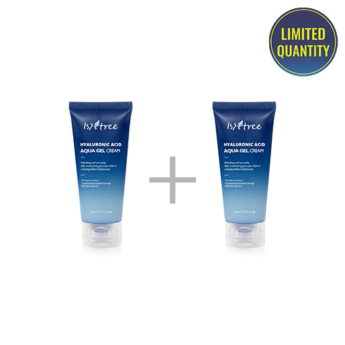 [1+1] Isntree Hyaluronic Acid Aqua Gel Cream 80ml