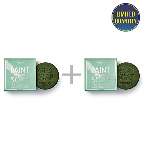 [1+1] chireureu Paint Soap French Green Mud 100g