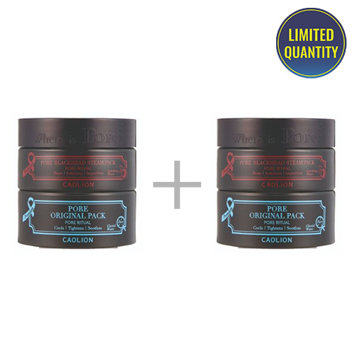 [1+1] CAOLION Premium Hot & Cool Pore Pack Duo 50g