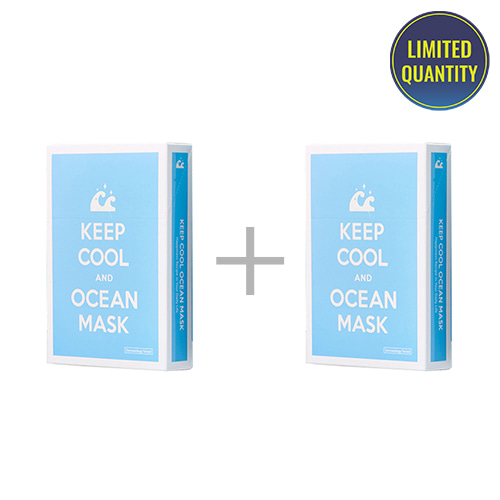 [1+1] KEEP COOL Ocean Intensive Hydrating Mask 10ea
