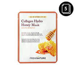 FROM NATURE Collagen Hydro Honey Mask 22ml * 5ea