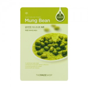 The FACE Shop Real Nature Mung Bean Mask Sheet