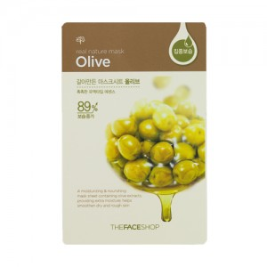 The FACE Shop Real Nature Olive Mask Sheet