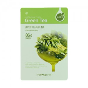 The FACE Shop Real Nature Green Tea Mask Sheet