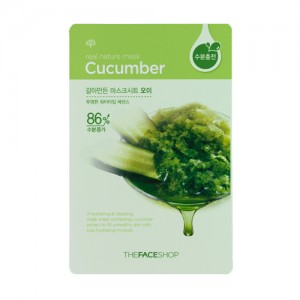 The FACE Shop Real Nature Cucumber Mask Sheet