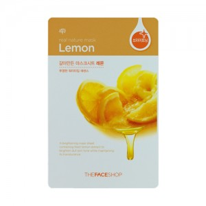 The FACE Shop Real Nature Lemon Mask Sheet
