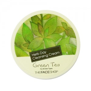 The FACE Shop Herb Day Cleansing Cream Green Tea