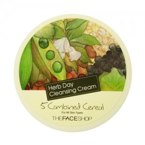 The FACE Shop Herb Day Cleansing Cream 5 Combined Cereal