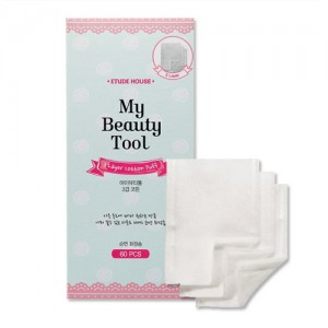 Etude House My Beauty Tool 3 Layer Cotton Puff 60p