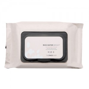 THE FACE SHOP Rice Water Bright Cleansing Tissue